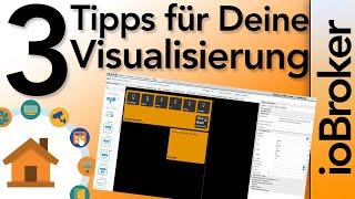 3Tipps für die ioBroker Visualisierung- Inventwo - Batteriestatus - Offene Fenster | verdrahtet.info