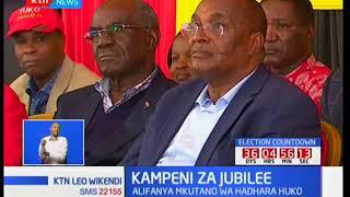 Kampeni za Jubilee : William Ruto aongoza kampeni Machakos