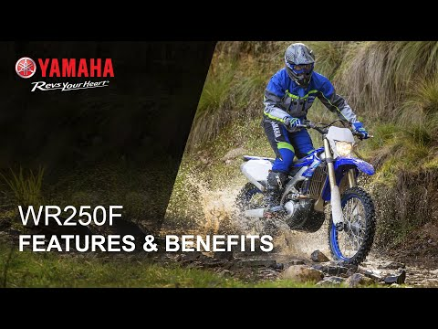 2021 Yamaha WR250F in Metuchen, New Jersey - Video 2