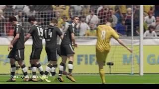 FIFA18気持ちいいプレイ動画05ミララスの直接FK