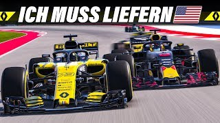 F1 2018 KARRIERE S02E18 – Austin, USA GP | Let's Play Formel 1 Deutsch Gameplay German