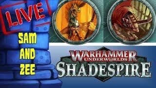 Warhammer Underworlds: Shadespire LIVE!! (w/Sam & Zee)