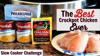 BEST CROCKPOT CHICKEN EVER | SLOW COOKER CHALLENGE | HOSTED BY MS. VEE & KENYA'S DECOR CORNER