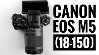 Canon EOS M5 (+ EF-M 18-150mm STM)