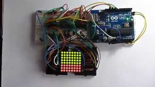 Controlling an RGB LED Matrix with Shift