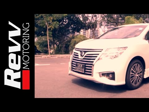 Revv Motoring - Season 1 Episode 4 - Nissan Elgrand 2.5 Highway Star