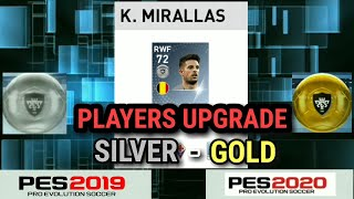 Pes 2019 Mobile All GOLD to BLACK Ball Player Upgraded Ratings-#PES