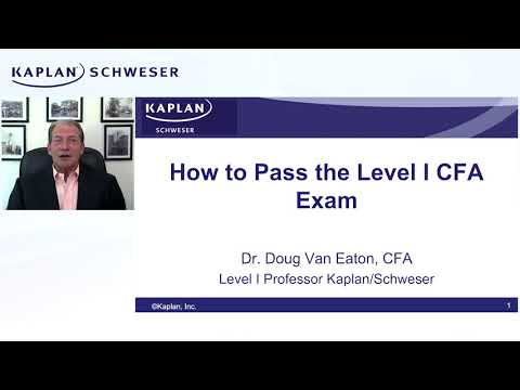 How to Pass the Level I of the 2021 CFA Exam - YouTube