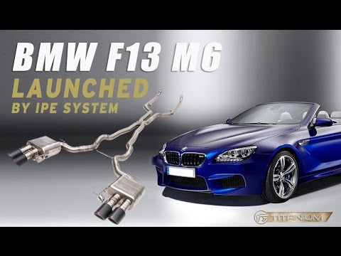 Sound Check - iPE titanium exhaust for BMW F12/F13 M6