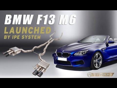 Sound Check - iPE titanium exhaust for BMW F12/F13 M6