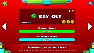 Dry Out (All coins)   Geomertry Dash   ZuritaX ツ