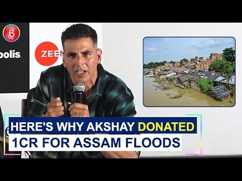 Akshay Kumar's Frank Opinion On Donating For Assam Floods & Kaziranga National Park