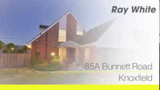 85A Bunnett Road, Knoxfiled. Agent: Chris Watson 0406 003 856