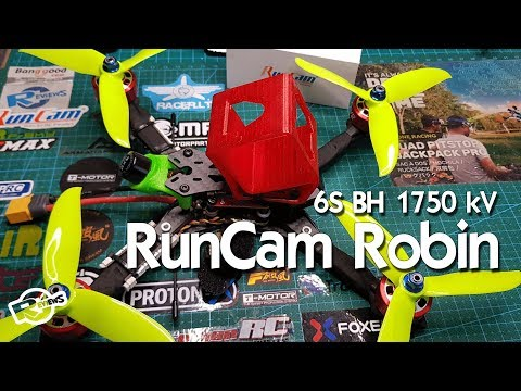 Brotherhobby Speed Shield 2207.5 V2 1750 And Runcam Robin 1.8 - BangGood