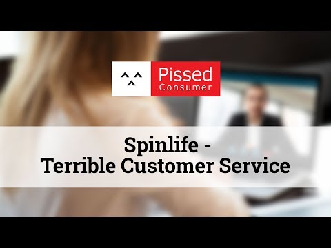 Spinlife - Terrible Customer Service