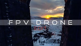 Ribblehead Viaduct - Captured A Beautiful Sunset - FPV Drone (4K Remastered)