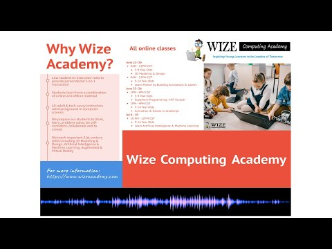 , title : 'Wize Computing Academy - Podcast #2