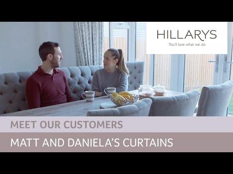 Choosing curtains: Meet Daniela and Matt