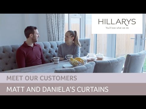 Choosing curtains: Meet Daniela and Matt YouTube video thumbnail
