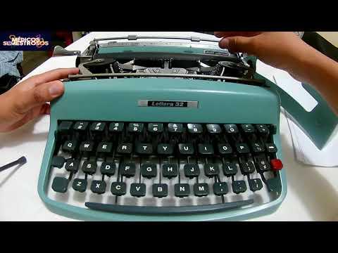 ¿Cómo utilizar una máquina de escribir? - Olivetti Lettera