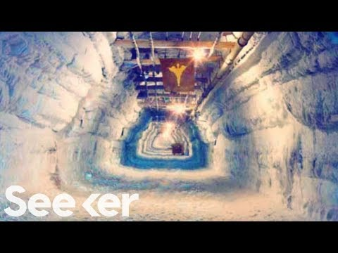 Studying Nuclear Waste Trapped Beneath Ice in Greenland