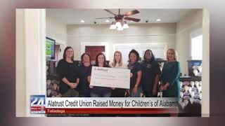 Alatrust Raises Money for Children's of Alabama