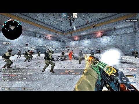 CS:GO · Zombie Escape Mod: ze_SUMAI_facility_v1a map