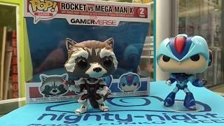 Funko Pop Rocket vs Mega Man X Marvel vs Capcom Bogotá Colombia