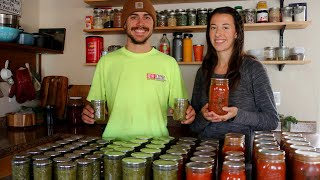Green Salsa, Tomato & Pasta Sauce | Late Season Canning