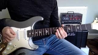 Steve Vai style guitar lesson