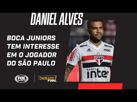 DANIEL ALVES NO BOCA JUNIORS? Facincani informa sobre possível negociação pelo jogador do São Paulo