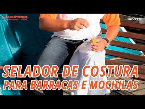 Selador de Costura para Barracas e Mochilas  - Video