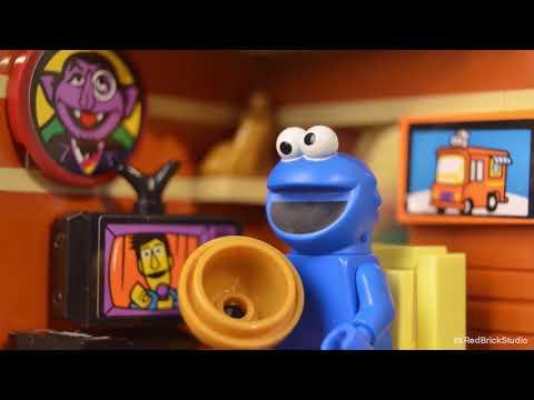 Vidéo LEGO Ideas 21324 : 123 Sesame Street