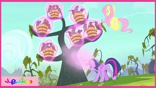 """""""توايلايت"""" تلقي تعويذة على خفافيش   مهرتي الصغيرة: الصداقة رائعة   الخفافيش   الموسم 4 الحلقة 07"""