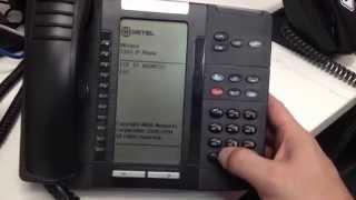 Mitel 5320 QRG Training - Самые лучшие видео