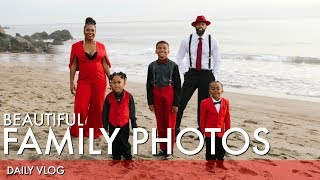BEAUTIFUL Family Photos | That Chick Angel TV