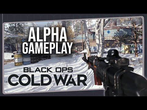 Impressões Iniciais – Call of Duty BLACK OPS COLD WAR | Gameplay da Alpha do Multiplayer no PS4 Pro