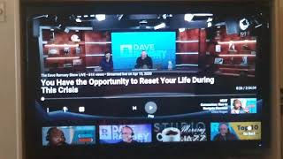 Passing huge chunks of time with Dave Ramsey