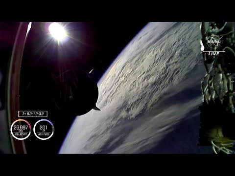 Two firsts in ISS crew launch for SpaceX and NASA