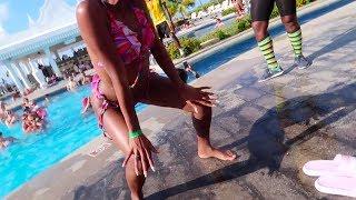 Pool party at Riu | Jamaica Vlog #204