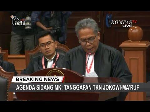 Ini Jawaban Tim Jokowi-Ma'ruf Soal Sumbangan Dana Kampanye yang Dipersoalkan di MK