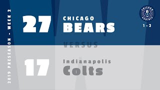 Postgame Show: Chicago Bears - Indianapolis Colts (Preseason)