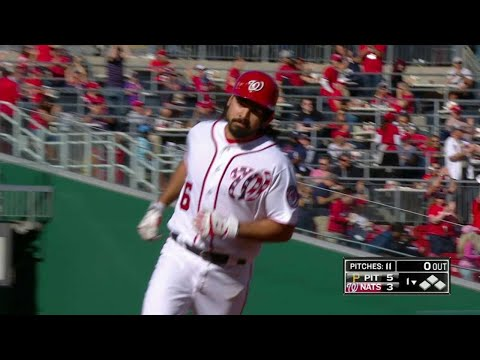 PIT@WSH: Rendon hammers three-run homer for 100th RBI