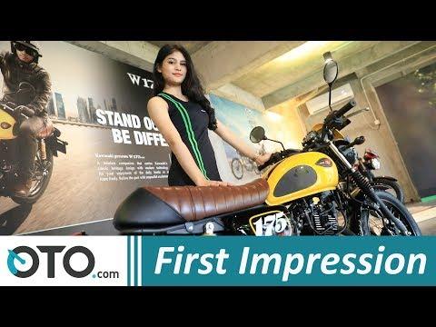 Kawasaki W175 Cafe 2019 | First Impression | Apa Saja Bedanya? | OTO.com