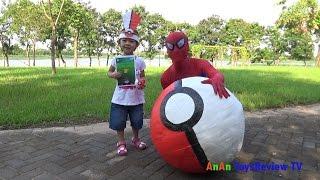 GIANT EGG POKEMON GO SURPRISE - Đi săn bắt Pokemon Go ❤ AnAn ToysReview TV ❤