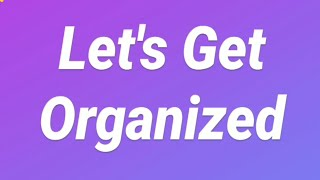 Get Organized: Lamar 6th Graders