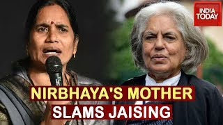 Angry Nirbhaya's Mother Hits Back At Indira Jaising Over Advice To Forgive Rape Convicts