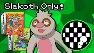 Can You Beat Pokemon FireRed/LeafGreen With Only a Slakoth?