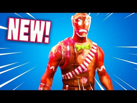 The New GINGERBREAD Skin Styles (Fortnite Battle Royale)