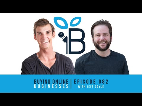How To Buy & Build Content Websites with Jeff Coyle from MarketMuse #82